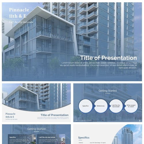 Powerpoint Template for Pinnacle 11th & E
