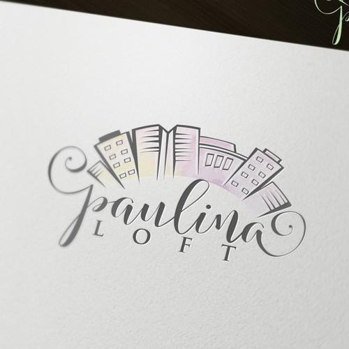 Cursive wedding logo