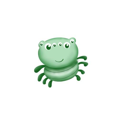Cute Spider Mascot