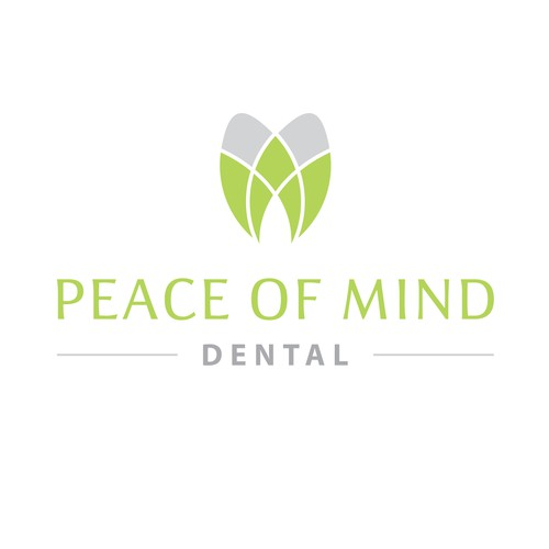 Peaceful dental logo