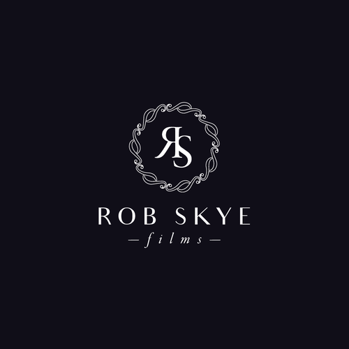 Uber sophisticated and luxurious film maker logo and website