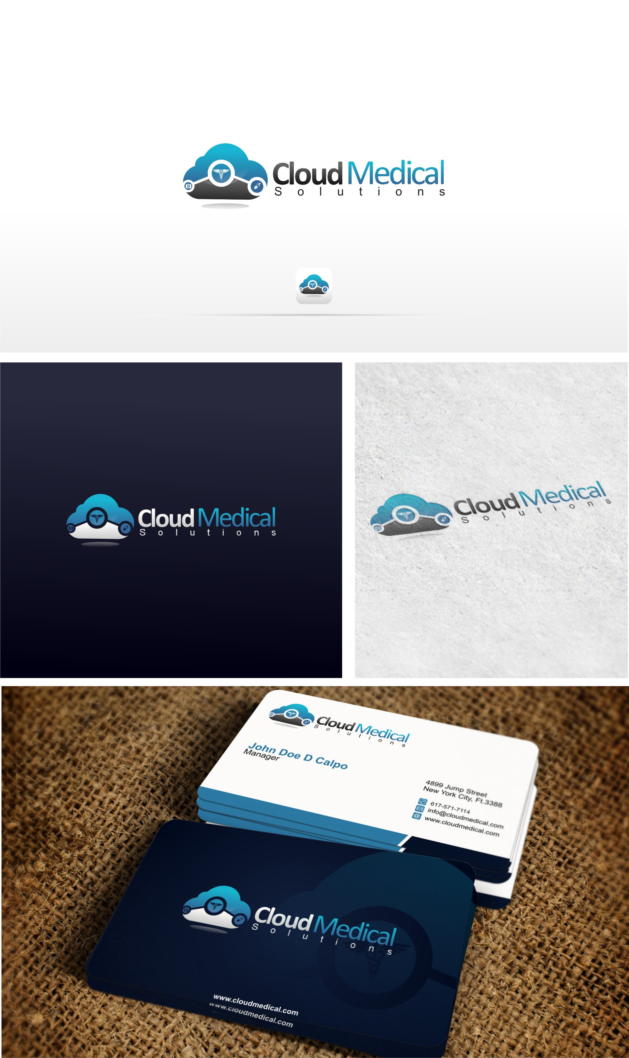 Medical Billing and Coding Company Cloud Incorporated into Logo