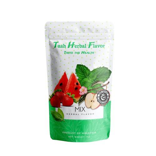 Tuah Herbal Flavor package design