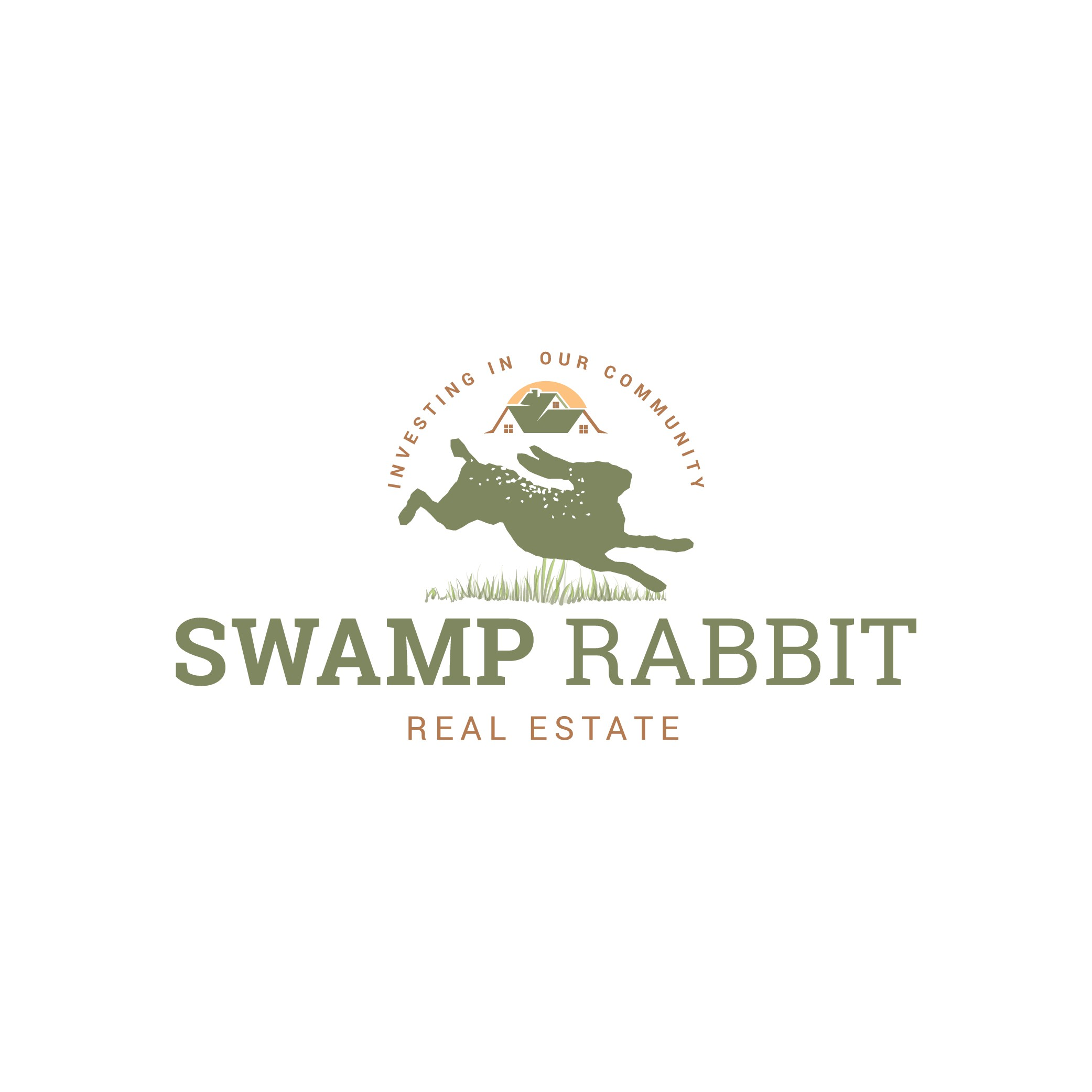 Create a Simple and Elegant Logo for Swamp Rabbit Real Estate!