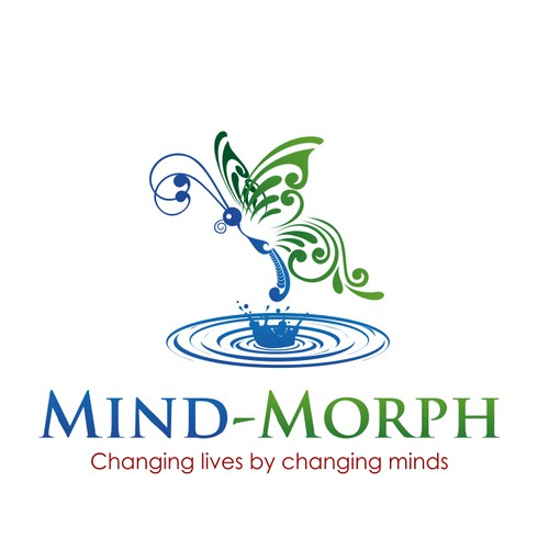Create a memorable butterfly-based logo for Mind-Morph.