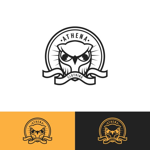 ATHENA CLOTHING LOGOS