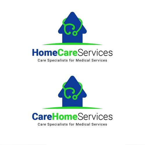 Home Care Service Logo