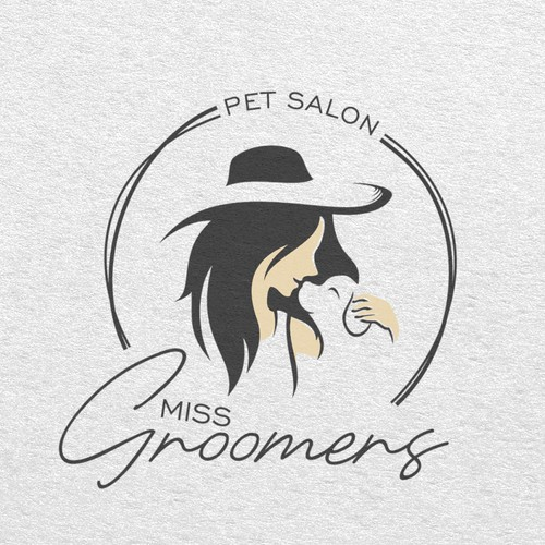 Logo concept for Miss Groomers