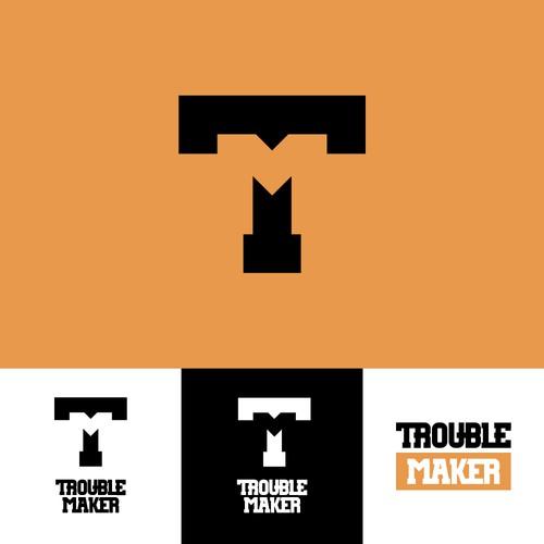 logo for Trouble Maker