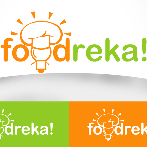 Help Foodreka with a new logo