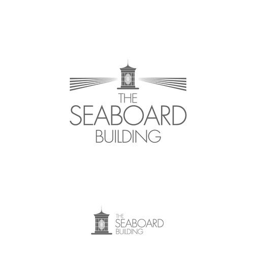 "Logo for a renoved building ""The Seaboard"""