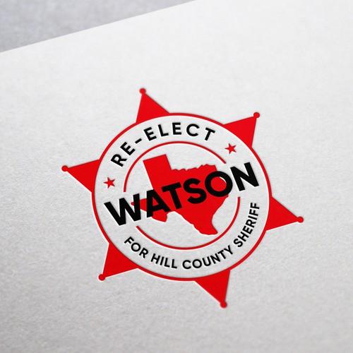 Re-elect Watson logo
