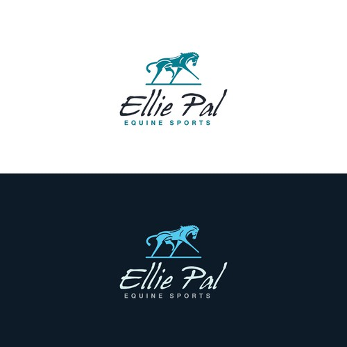 Logo for an equine sport company