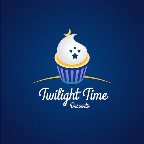Sweet logo for desserts time