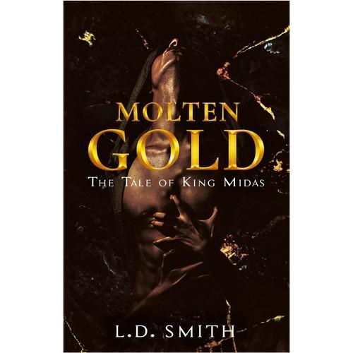 "Book cover ""Molten Gold"" - L.D.Smith"