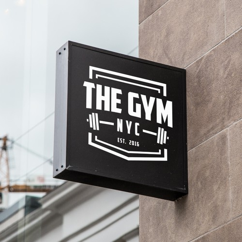 Logo design for a gym
