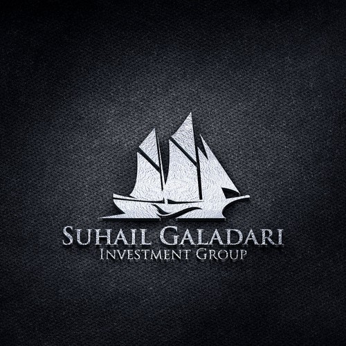 Modern and traditional elements in an Investment Company logo