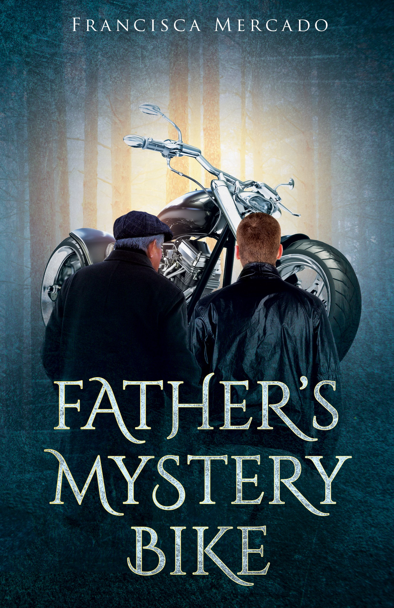 "Create an inspiring cover for our book ""Fathers Mystery Bike"""