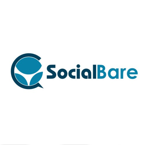 Create me something modern and unique for my social media management company called SocialBare