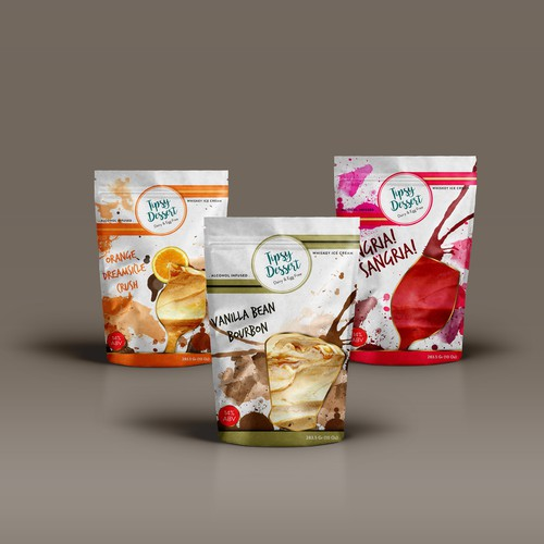 For varian whiskey ice cream pouch