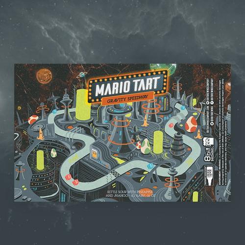 2nd -mario tart 8bit