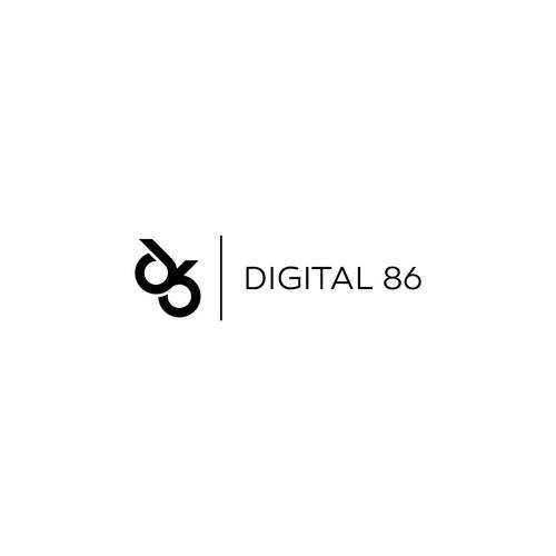 Digital 86 Logo