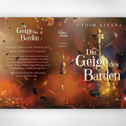 Die Geige des Barden by Nadim Affani