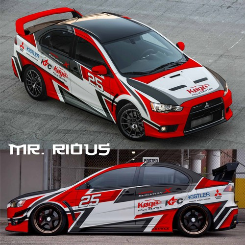 New Rally Car design