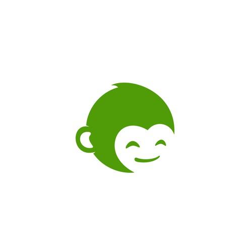 Simple Playful Logo Concept for MonkeyPod