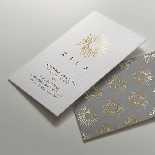 Business Card for Jewelry Maker