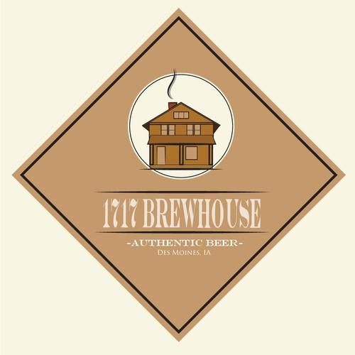 1717 Brewhouse Logo Concept 2