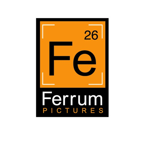 Use Element Symbol for Ferrum Pictures Logo