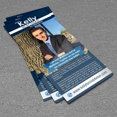 Dylan Kelly for Selectman (Town Selectman (Council) Campaign Literature)