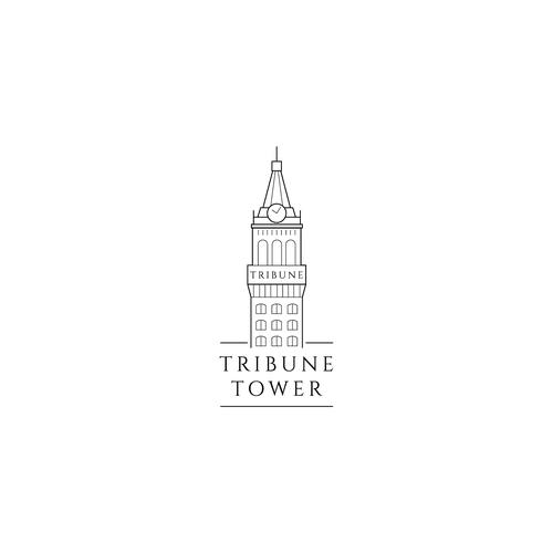 Logo concept for Tribune Tower