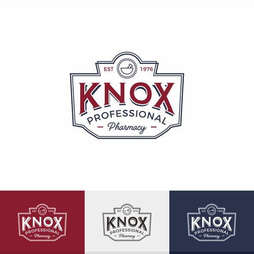 Logo concept for Knox Professional Pharmacy