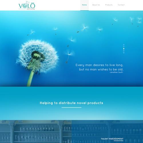 Website design for Volo Healthcare
