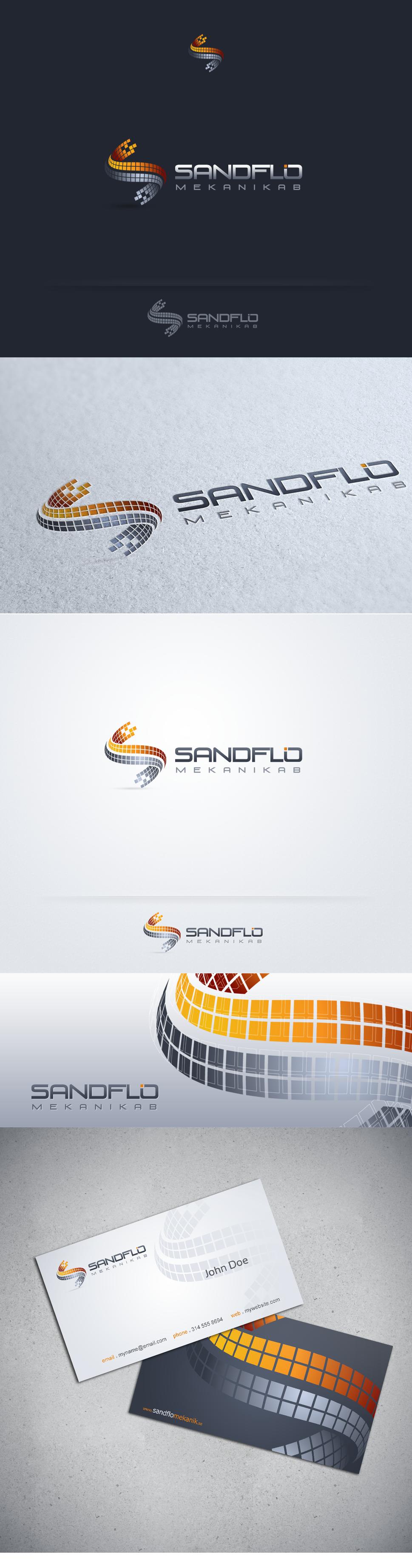 New logo wanted for Sandflo Mekanik AB