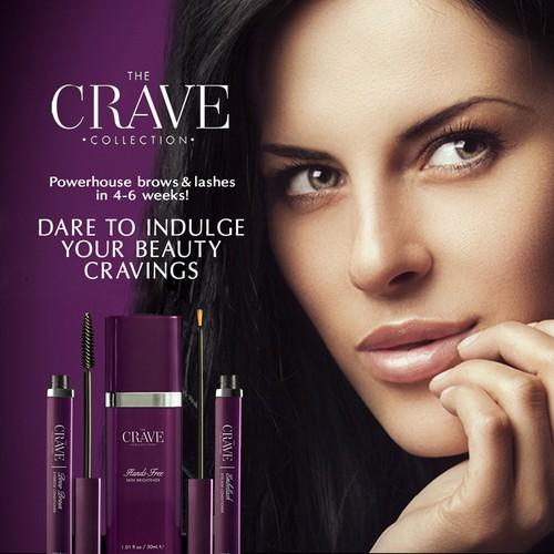 The Crave Cosmetics Magazine Ad