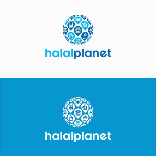 Logo for Halal Planet