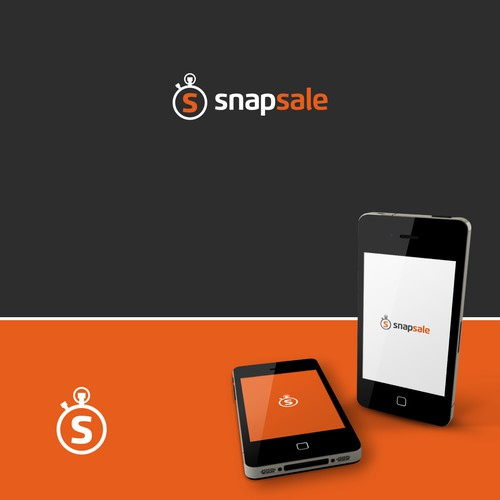 Modern logo for app to selling stuff fast