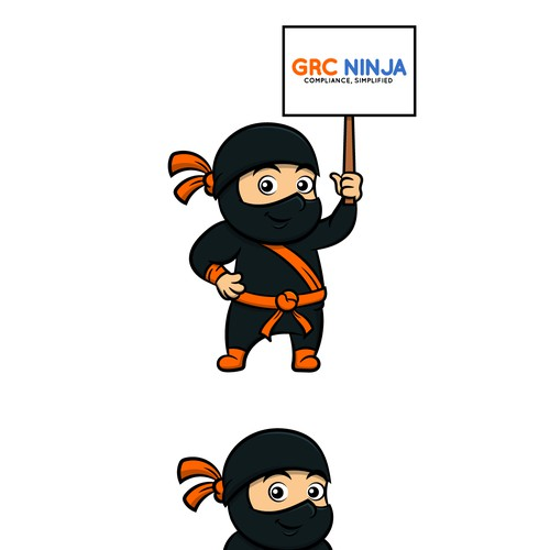 Ninja Logo Mascot
