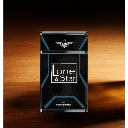 Create the next product packaging for Lone Star