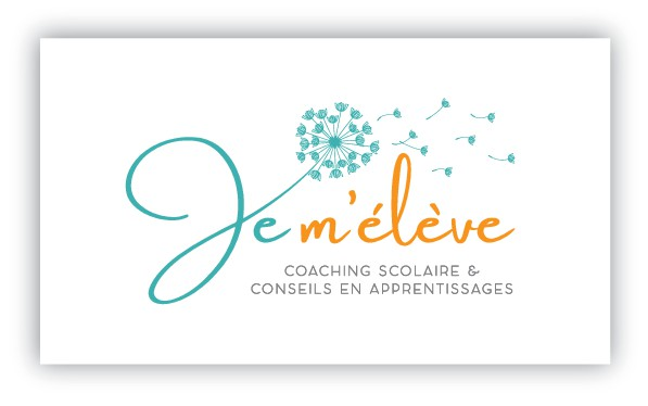 logo and  business card design  'Je m'élève'