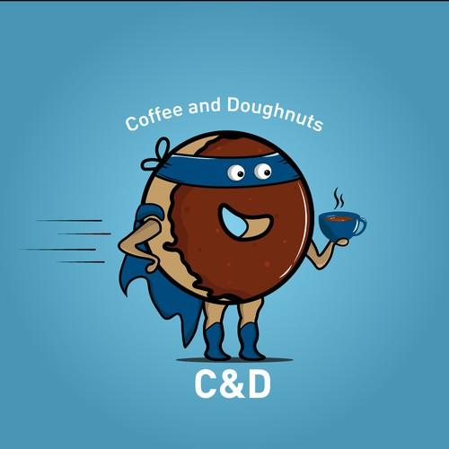 Superhero Donut.