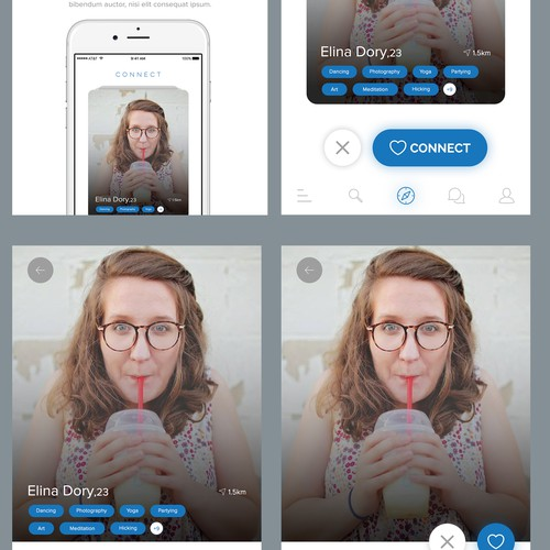 Dating App concept