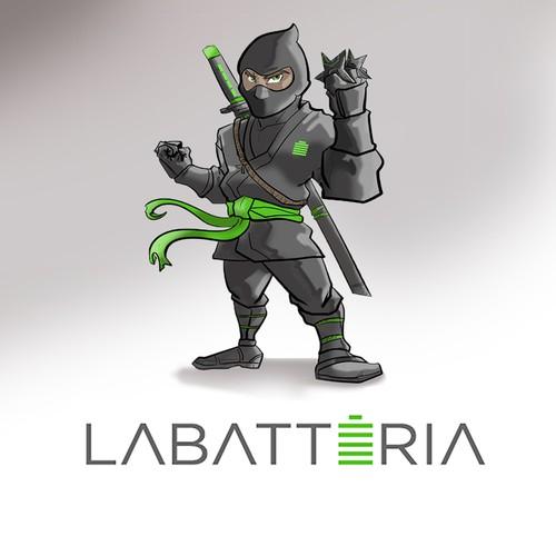Mascote Ninja