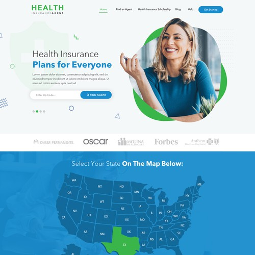 Health Insurance Website