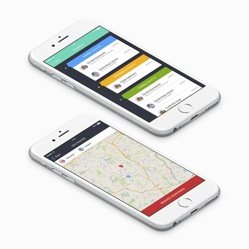 Bold Child Tracker App