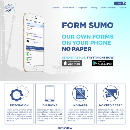 Sites for digital form app