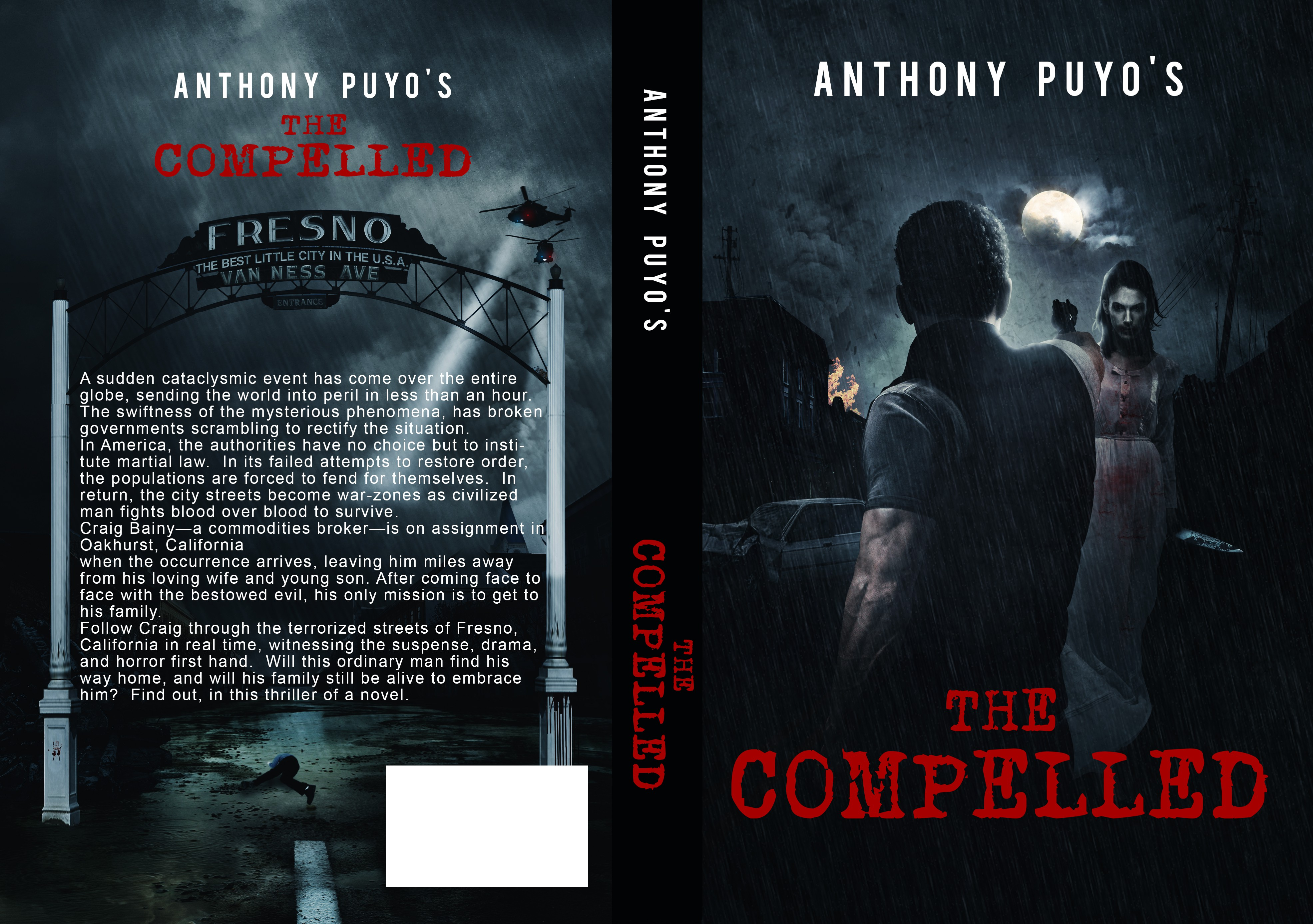 Horror artistry wanted for book cover.